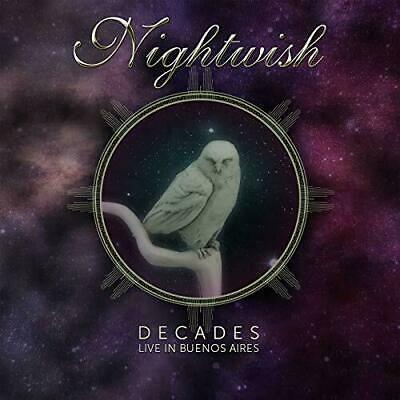 Decades Live in Buenos Aires  NIGHTWISH  2 CD SET