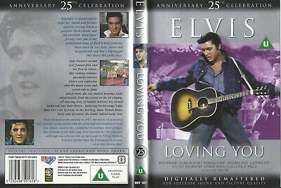 ELVIS PRESLEY DVD - Loving You (25th Anniversary Celebration)