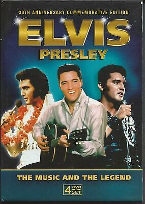 ELVIS PRESLEY DVD - The Music And The Legend 30th Anniversary Commemorative Ed