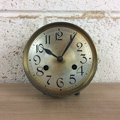 Vintage Mantle Clock Movement For Spares Or Repair #1