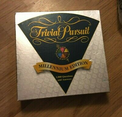 Trivial Pursuit Millenium Edition Family Quiz game, Party game good condition