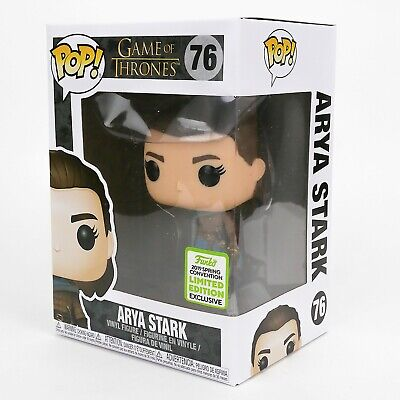 Funko Pop Game of Thrones #76 Arya Stark Convention Exclusive Vaulted Retired