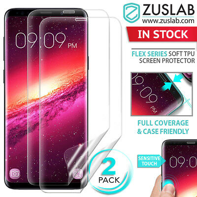 For Galaxy S8 S9 S9 Plus Genuine ZUSLAB Full Coverage TPU Screen Protector