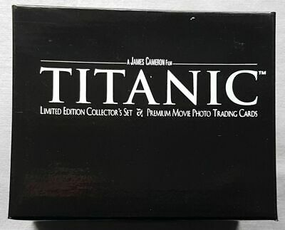 Titanic Movie Limited Edition Set Trading Card in the Suitcase with Certified
