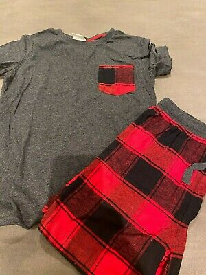 Peter Alexander Boys Black & Red Sleep Set Size 12 BRAND NEW WITHOUT TAGS