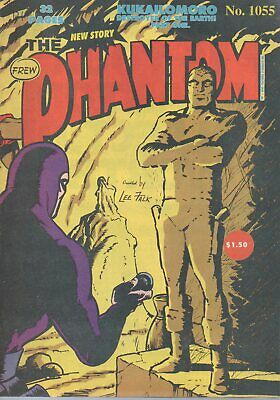 Phantom Comic Issue # 1055 - Collectable Comic Book - Very Good Condition