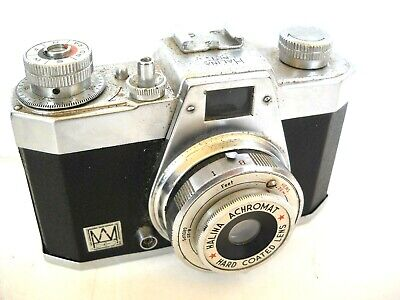**1960`s HALINA PET 35mm VIEWFINDER CAMERA IN VERY GOOD WORKING CONDITION**