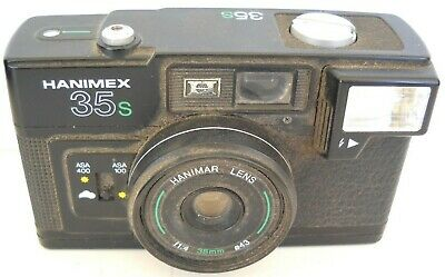 **1960`s HANIMEX 35S 35mm VIEWFINDER CAMERA IN VERY GOOD WORKING CONDITION**