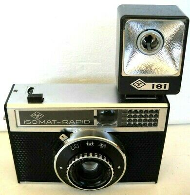 **1960`s AGFA ISOMAT RAPID 35mm FILM VIEWFINDER CAMERA IN VERY GOOD CONDITION**