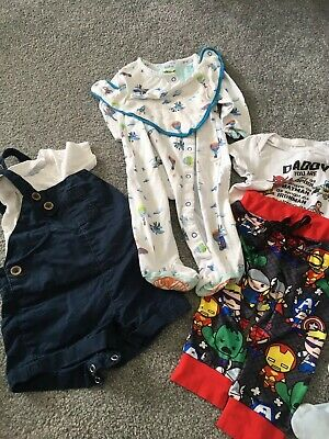 bundle of baby boys clothes age 3-6 months -ted baker Grow More