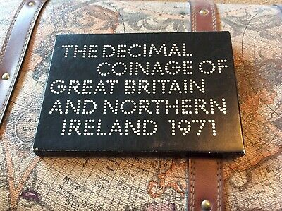 1971 Royal Mint Proof Coin Set cover and insert. No box or coins.