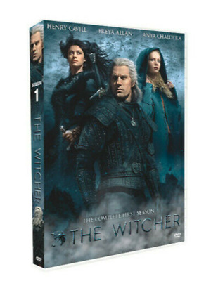 The Witcher : Complete TV Series Season 1 ( New DVD ) Fast Shipping Region 1