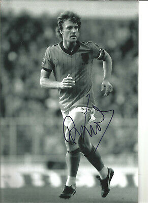 Ruud Krol Holland Hand Signed 12 x 8 inch authentic football photo SS1200D