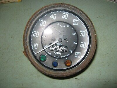 land rover series 3 spedo clock used code 355. 22981 miles