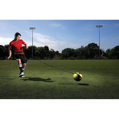 NEW Soccer Football Kick Throw Trainer Solo Practice Training Aid Control Skills