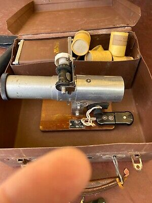 Antique VIS projector And Films