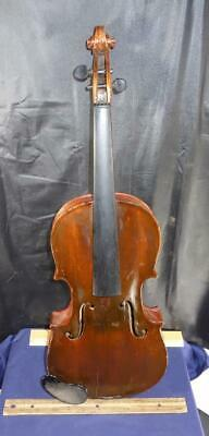 OLD Violin Music Instrument For Parts or Repair !