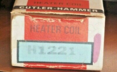 Cutler Hammer H1221 Heater Coil Thermal Overload-NEW
