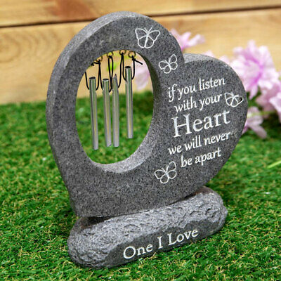 Graveside Love Memorial Wind Chime Remembrance Tribute Outdoor Grave Memory Gift