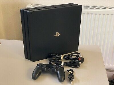 Sony PlayStation 4 Pro PS4 Pro 1TB Game Console  Black