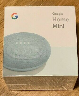 Google Home Mini GA00275-US Smart Speaker with Google Assistant - Aqua