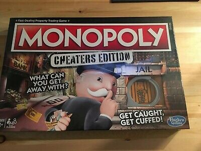 Monopoly: Cheaters Edition [Board Game] brand new sealed
