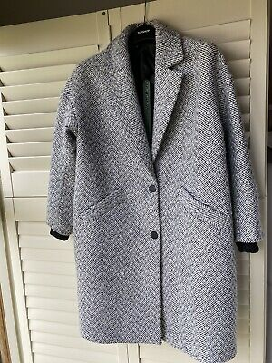 Top shop Herringbone Maternity Coat - UK small - excellent condition