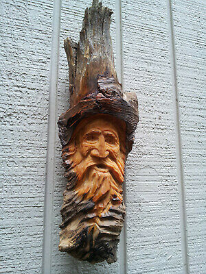 Wood Spirits Carvings Ents Wizard Gnome Morel Nautical Folklore History Vintage