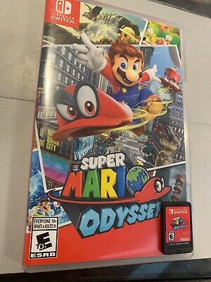 Super Mario Odyssey -  Nintendo Switch - Case And Game