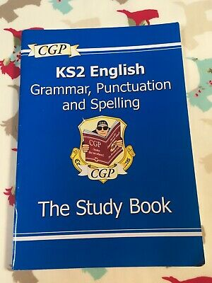 CGP KS2 English Grammar, Punctuation And Spelling The Study Book. Good Condition