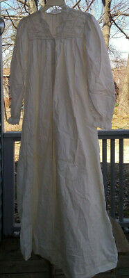 Antique Victorian Clothing Lot of 5 Nightgown 2 Skirts Pantaloons Bloomers1800's
