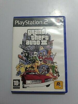 Grand Theft Auto III GTA 3 PlayStation 2  ps2 pal España SIN MANUAL