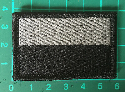 Polish Army flag Patch Embroidered Velcro 10