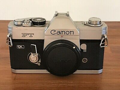Canon FT 35mm Film Camera Body Only - Work