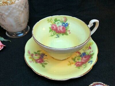 Beautiful Foley Bone China Tea Cup And Saucer