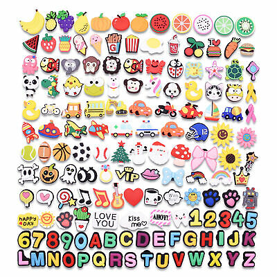Wholesale 150Pcs Shoe Charm Lot Decorations  for Hole Shoes/Whirstbands