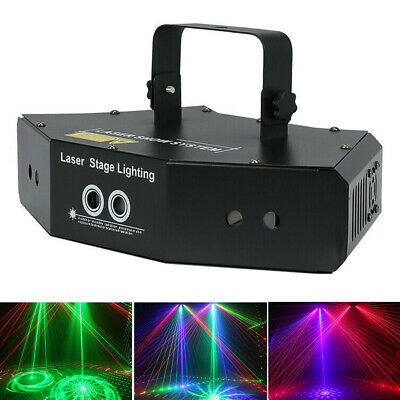 6 Lens Scan Laser Light/RGB DMX Line Beam Scanning Stage Lighting/DJ Dance Bar