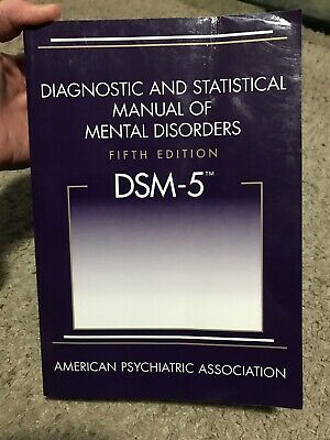 DSM-5 Diagnostic and Statistical Manual of Mental Disorders 5th edition APA GOOD