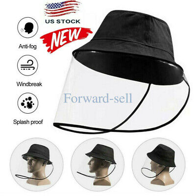 US Anti-spitting Protective Cap Cover Outdoor Fisherman Hat US KY