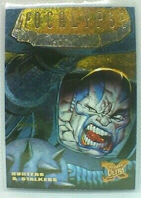 Fleer Ultra X-men (1995) Hunters And Stalkers Chase Card #1 - Apocalypse