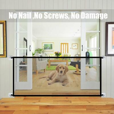 Portable Kids &Pets Safety Door Guard Security Fence Hot
