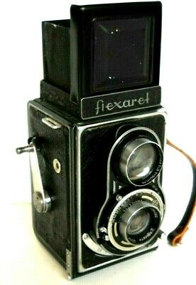 **1950s MEOPTA FLEXARET TLR 120 ROLL FILM BOX CAMERA IN VERY GOOD CONDITION**