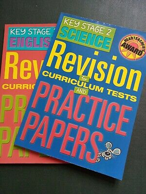 Pack of 2 Key Stage 2 English and Science Revision and Practice Papers VGC