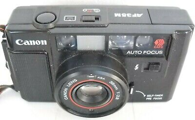 **1980`s CANON AF35M 35mm VIEWFINDER FILM CAMERA IN VERY GOOD CONDITION**