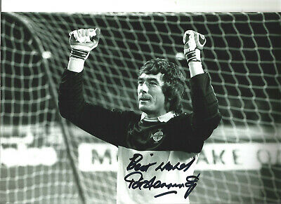 Pat Jennings Northern Ireland Signed 12 x 8 authentic football photo SS1248