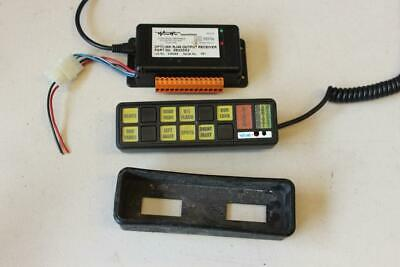 Woodway OptiDIN control system/switch panel Whelen lightbars beacons LED lights
