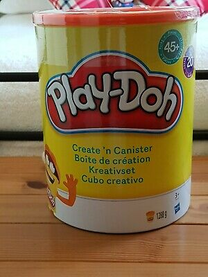 Play-Doh Create N Canister Set - 20 x Play Doh Tubs, 45 Accessories