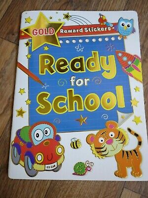Ready For School Activity Workbook Maths English Phonics Ages 6-8 Home Schooling