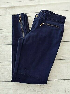 Michael Kors womens skinny pants size 2 with zipper ankles