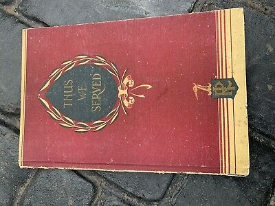 House Clearance Attic Find Old Vintage Raleigh Bike Thus We Served Rare Book